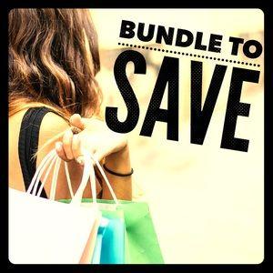 Bundle items for bigger savings